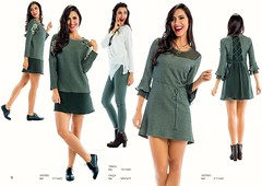 "Modelo 1: Vestido""Zumbi Urban Glamour"" ref: VTI1682 (comprar aqui: http://tinyurl.com/ht8o94x);  Modelo 2: Túnica ""Zumbi Urban Glamour"" ref: TKI1680 (comprar aqui: http://tinyurl.com/zdkm5cy) Calça ""Zumbi Urban Glamour"" ref: MNI1679 (comprar aqui: http:// (zumbi urban glamour) Tags: zumbi gifts trendy look fashion military green trend white newcollection blouse zumbiurbanglamour pants wintercollection dress winter"
