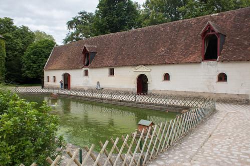 La galerie des Attelages au Château de Chenonceau