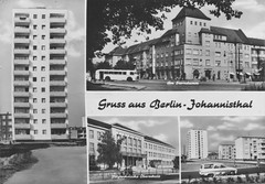 Berlin-Johannisthal 1968 (SebastianBerlin) Tags: 1968 berlin treptow johannisthal sterndamm johannisthalsüd springbornstrase ellernweg schule postkarte hsander sander graphokopie graphokopiehsander germany postcard picturepostcard германия берлин открытка