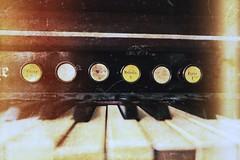 melodia forte | old harpsichord in one Riga Cathedral (natapritula) Tags: 2016 summer june riga latvia cathedral old town harpsichord melodia forte