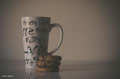 Coffee and Cookies! (BGDL) Tags: lightroomcc nikond7000 afnikkor2880mm13356g bgdl coffee latte cookies kitchen 7daysofshooting week35 morningcoffeeafternoontea macromonday