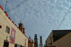Here you clock (Metamorfa Studio) Tags: opensourcephoto freephotos publicdomainphotos freecommercialphotos totallyfreephotos noattributionphotosources photofree nubes chmóry clouds cloudforms cloudy pueblo miasteczko village méxico mexico meksyk feria fair