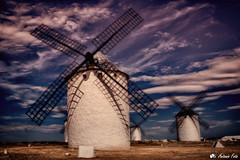 Pueblos de España (Antonio Calero Garcia) Tags: paisajes pueblos españa exteriores campo criptana lamancha atardecer