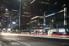 종각역 광화문 방향 야경 (TFurban) Tags: 서울특별시 대한민국 야경 종로 종각역 광화문 鍾路 チョンノ jongno night scape