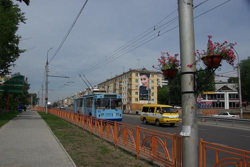 Irkutsk trolleybus ©  trolleway