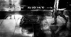 Look right (Jonathan Vowles) Tags: rain london puddle