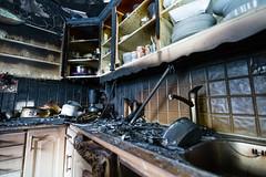OBRE-utbrent-kjøkken-Rustad-9 (oslobrannogredning) Tags: kjøkkenbrann tørrkok bygningsbrann brann brannskader utbrent komfyr koketopp matlaging