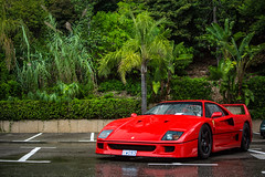 One of the greatest of all time. (David Clemente Photography) Tags: ferrari ferrarif40 f40 f50 ferrarif50 v8 supercars hypercars cars carsandcoffee monaco montecarlo carsandcoffeemonaco biturbo v8biturbo