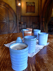 photo - Southfarthing Beer at The Green Dragon Inn (Jassy-50) Tags: photo hobbiton hinuera northisland newzealand theshire lordoftherings lotr thehobbit movieset movie hobbit shire greendragoninn inn pub beer bier southfarthing container drinkingvessel cup restaurant chair