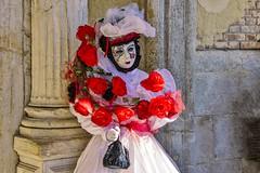 Venezia , il carnevale  ... white (miriam ulivi - OFF for a few days) Tags: miriamulivi nikond7200 italia venezia venice carnevaledivenezia maschera bianco carnivalofvenice white mask febbraio2017 february2017