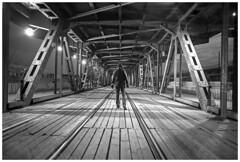 *** (Spartaxus) Tags: warsaw bridge night longexposure pentax tmax iso400 mesuper revuenon 24mm