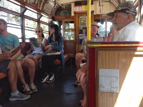 Melbourne tram 888 at line 35