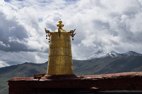 Ganden Monastery, Tibet Autonomous Region, Tibetan Plateau, China,