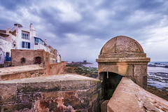 Rumbling (ZL-Photography) Tags: africa travel building beauty wall architecture clouds coast nikon cloudy northafrica atlantic morocco maroc essaouira mogador 2015 travelphotography d810 mogadore 1635mmf4 zlphotography zouhairlhaloui