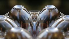 sensual silver shapes (HansHolt) Tags: macro silver box egg shapes sensual plastic carton shape vorm vormen zilver sensueel canonef100mmf28macrousm eierdoos canoneos6d