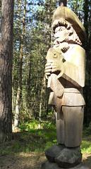 SDC12845a - LITHUANIA - LITHUANIE - Hill of Witches -  la Colline des Sorcires (peguiparis - 4 million visits) Tags: wood witches klaipeda sculptures lithuania bois nains sorcires dwarfes lithuanie