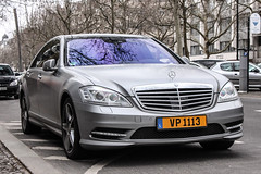 Luxembourg - Mercedes-Benz S-Class W221 2010 (PrincepsLS) Tags: berlin germany mercedes benz plate license luxembourg spotting 2010 sclass w221