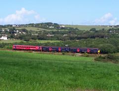 153325 & 150106 near Wheal Busy, Chacewater [Explored] (Marky7890) Tags: train cornwall railway sprinter dmu class153 fgw 150106 supersprinter class150 chacewater 153325 2p86