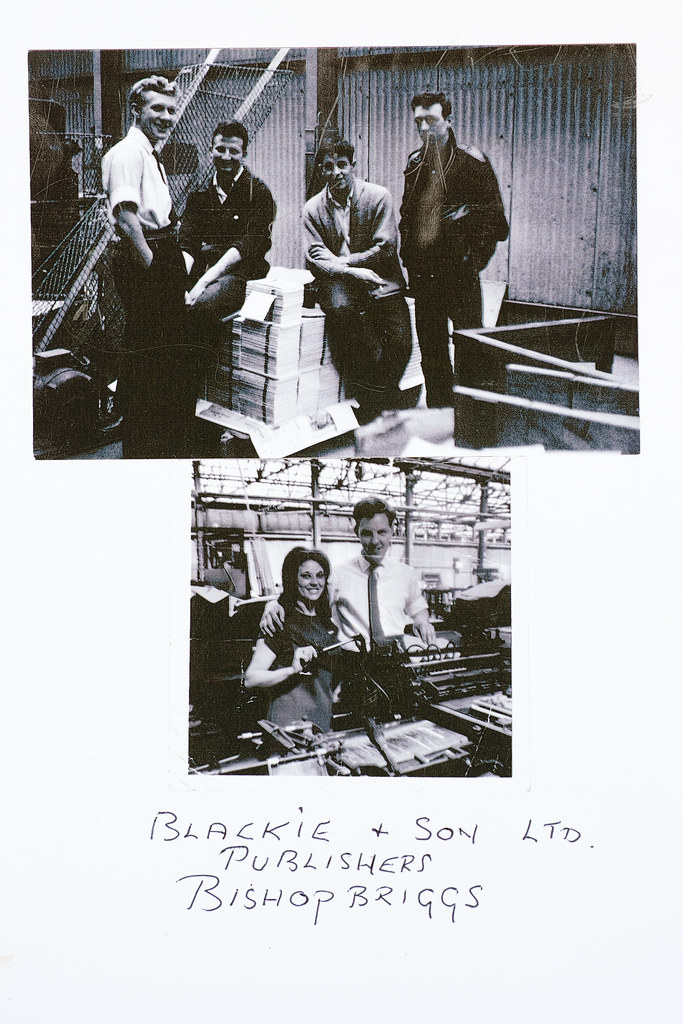 ? - Blackie & Son photograph of 4 men and man and woman