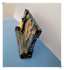 Porta Chaves e Recados (CriarEreciclarArte) Tags: portachaves madeira portarecados rstica scrapdecor