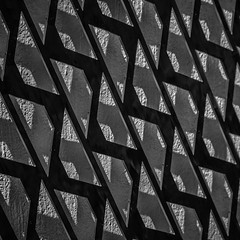 Dont live in a shadow (Peter Jaspers) Tags: light shadow blackandwhite bw abstract art monochrome metal wall square blackwhite pattern olympus zuiko gouda 2015 500x500 40150mm frompeterj