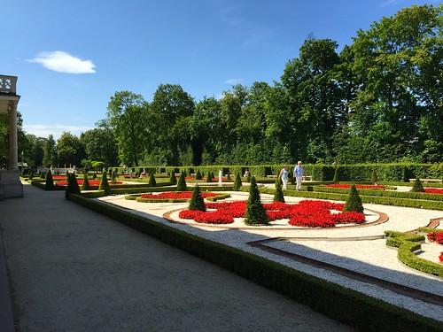 華沙皇宮博物館-花園