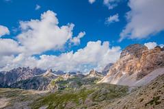 Verso il rifugio Locatelli (marypink) Tags: light summer sky mountains clouds montagne nuvole estate cielo sentiero unescoworldheritage dolomitidisesto rifugiolocatelli nikond800 nikkor1635mmf40 percorsodelletrecime