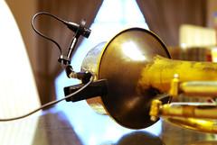 My New Old Toy (Soegi.Hartono) Tags: old music up vancouver vintage 50mm close smooth trumpet jazz sound musica microphone horn musik 18 valves mute recording beautifull harmon hartono condenser trompet getzen compossition soegi