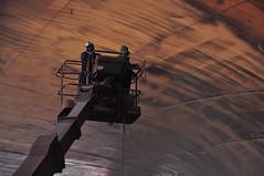 MSC Samantha (larry_antwerp) Tags: haven port ship vessel container antwerp drydock schip droogdok mediterraneanshipping easternpacificshipping antwerpdrydocks enginedeckrepair 9110377