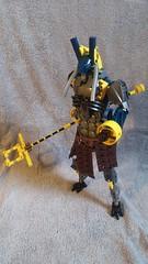 Anubis (DanielBrickSon) Tags: yellow lego egyptian bionicle navyblue anubis