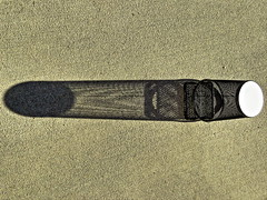 1 Light and Dark (Mertonian) Tags: light white abstract black reflection art sunrise canon dark concrete dawn 1 design shadows object cement hard objects powershot simplicity exposed mertonian canonpowershotsx60hs robertcowlishaw sx60hs backyardphotolab monkofthewestdesertcom 1lightanddark