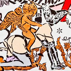 Walk on the Wild Side (Thomas Hawk) Tags: usa graffiti stencil mural unitedstates florida miami unitedstatesofamerica aiko wynwood fav10 ladyaiko wynwoodwalls thewynwoodwalls