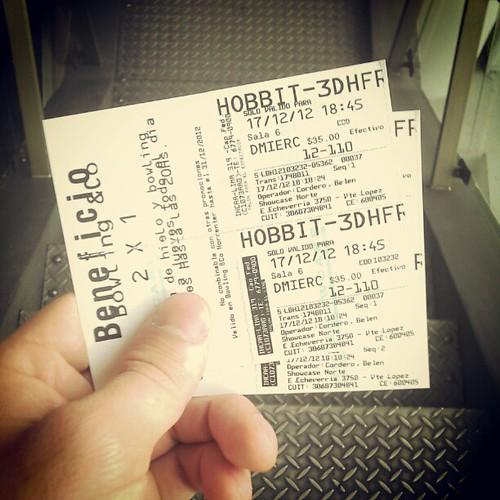 Se viene el Hobbit HFR! :)