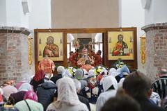 053. Patron Saints Day at the Cathedral of Svyatogorsk / Престольный праздник в соборе Святогорска