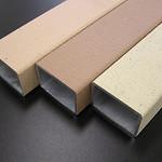 テラコッタ調アルミニウム表面処理建材の写真