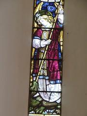 Pulham St Mary, Norfolk (jmc4 - Church Explorer) Tags: church window glass saint michael dragon norfolk stained archangel pulham pulhamstmary