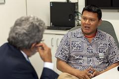 Secretário Antônio Alves Recebe Lideranças Xavante e Yanomami (Secretaria Especial de Saúde Indígena (Sesai)) Tags: brasília indígenas maurício outubro 2015 índios secretário yanomami antônioalves
