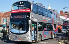 Go North East 6114 NL63XBY (matt56120) Tags: bus newcastle eclipse volvo transport wright haymarket gemini gonortheast 6114 wrightbus b9tl nl63xby
