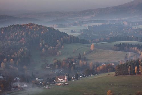 Jetřichovice, České Švýcarsko