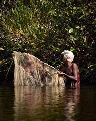 Women Net Fishing, Madagascar (Rod Waddington) Tags: africa two net water female fishing women traditional salt culture tribal afrika tribe madagascar cultural afrique malagasy