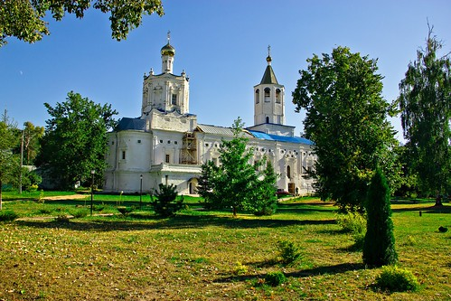 Solotchinsky Female Monastery of The Virgin Nativity, Solotcha, Ryazan