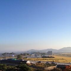 Morning Sky 2015/10/13  (Neoadam()) Tags: morning sky october bluesky korea morningsky   gunsan 10      gunsansi