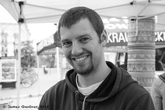Colin from Reid's Orchard (James0806) Tags: blackwhite washington districtofcolumbia smiles beards facialhair goatees