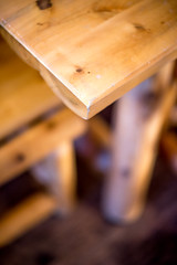 log cabin kitchen #2 (Real Cowboys Drive Cadillacs) Tags: wood vacation orange brown white black color art nature kitchen architecture table relax photography 50mm us photo log cabin nikon raw texas unitedstates bokeh outdoor 14 grain colorphotography logcabin woodgrain burnet woodtable d600 nikond600