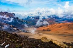 Haleakala Volcano, Maui - 18 (www.bazpics.com) Tags: park mountain rock landscape volcano hawaii lava us amazing scenery rocks unitedstates cone extreme maui national haleakala valley ash hi volcanic devastation cinder dormant cindercone kula devastated