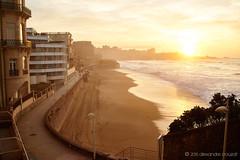 Sunset on Biarritz (1) (alǝxH3o) Tags: sunset landscape beach aquitaine france europe biarritz sea seascape dsc03432co dsc03432cowm sonya7 sonya7m2 sonya7ii ilce7m2 minoltaaf35105mmf3545 beercan