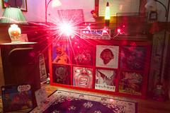 Halloween playlist... (DjD-567) Tags: light red music records color vintage experimental album vinyl eerie spooky laser bauhaus covers slayer audio blacksabbath hifi ironmaiden freakout thorens kingcrimson frankzappa motorhead marantz mothersofinvention protomartyr pinkfloydrelics nomilkontuesday