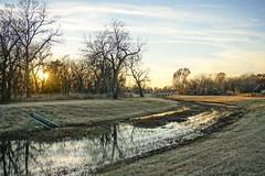 sunset (Arniesra) Tags: oklahoma walk tulsa bixby