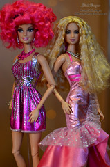 Pink party 08 (Lindi Dragon) Tags: pink doll barbie lopez jlo shakira mattel beyonce fashionistas sharpay