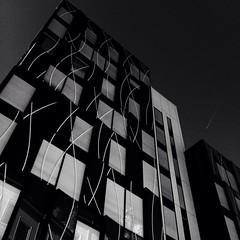 Perrache Building (o.bonnin) Tags: urban building monochrome architecture noir geometry et blanc